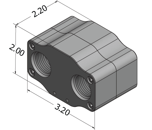 Improved Racing FSM Thermostat Dimensions
