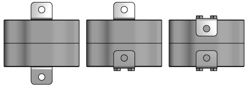 Multiple mounting options